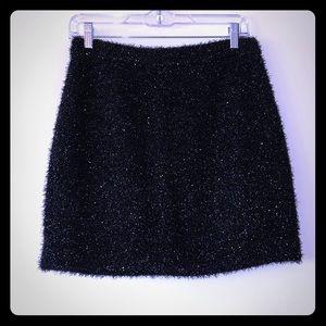 Kate Spade ♠️ holiday shimmer black skirt EUC